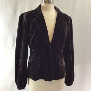 Apt. 9 fitted velvet jacket